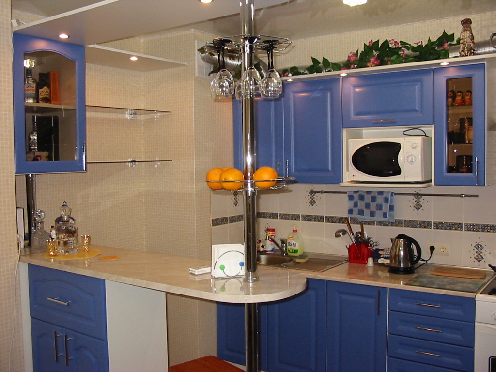 Как сделать кухню своими руками с барной