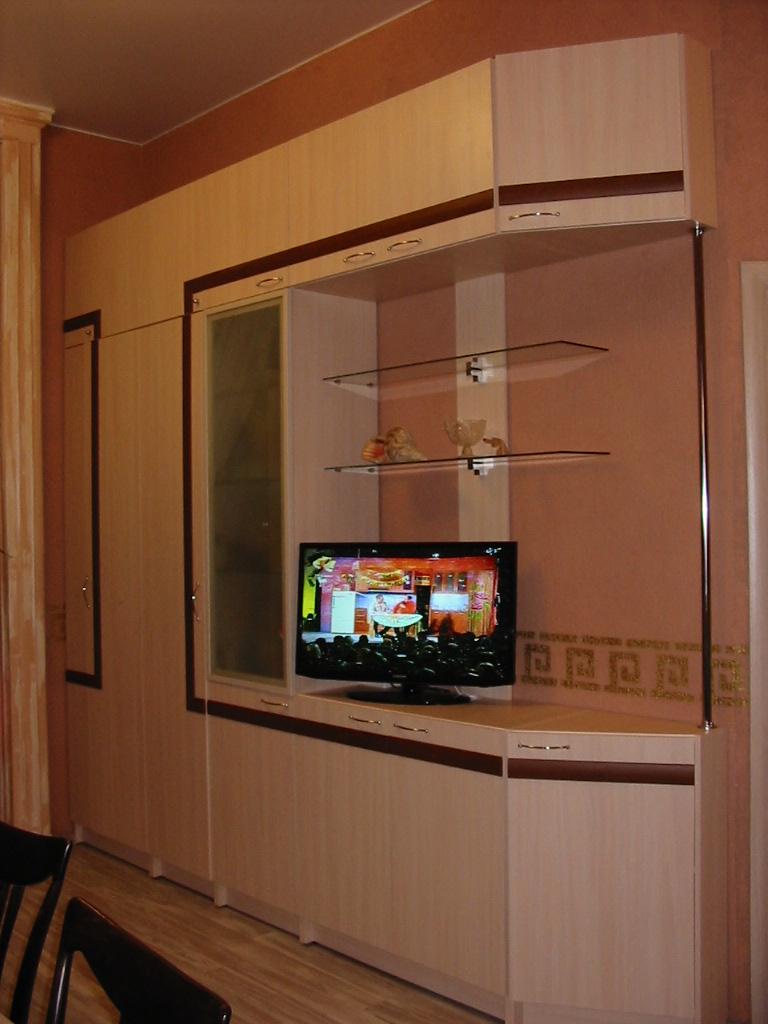 Встроенная Мебель В Гостиную Москва