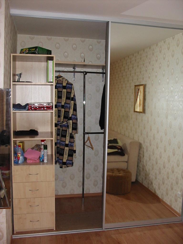 Встроенные шкафы гардеробные фото
